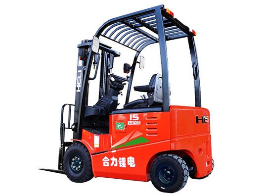 G系列1-1.8噸鋰電池平衡重式叉車