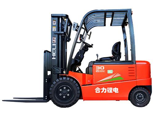 G系列3-3.5噸鋰電池平衡重式叉車