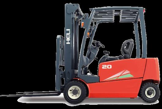 四支點EFG1.6-2T前輪雙驅四輪蓄電池平衡重式叉車