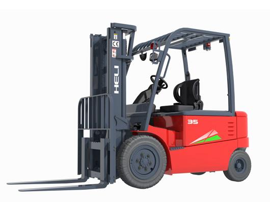 四支點G系列3-3.5噸蓄電池平和重式叉車