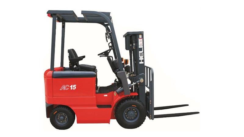 四支點H系列1-1.5噸窄車身蓄電池平衡重式叉車