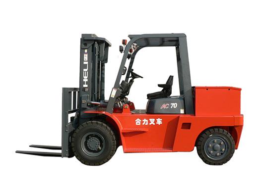 四支點H系列6-7噸蓄電池平衡重式叉車